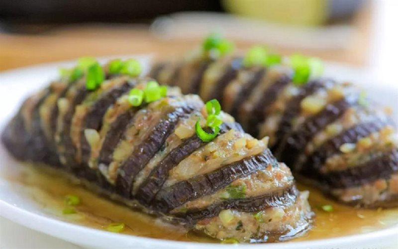 Cách làm cà tím nhồi thịt hấp
