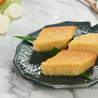 Cách làm Bánh Khoai Mì Nướng với đậu xanh ngọt mềm
