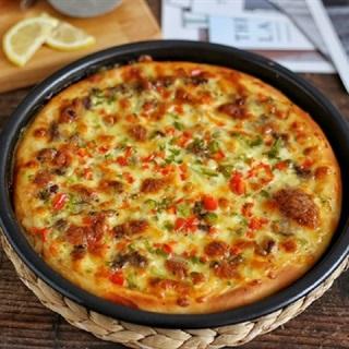 Cách làm bánh pizza bò xào phô mai