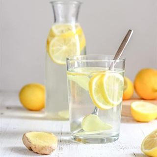 Cách làm Nước chanh gừng detox