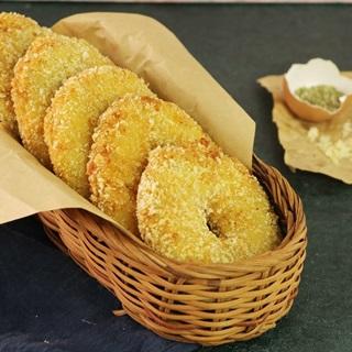 Cách làm bánh donut khoai tây