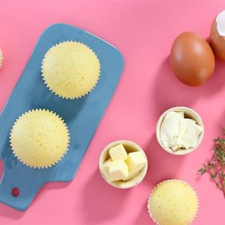 Cách làm bánh cupcake phô mai hấp
