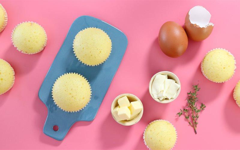 Cách Làm Bánh Cupcake Phô Mai Hấp | Nở Xốp Mềm