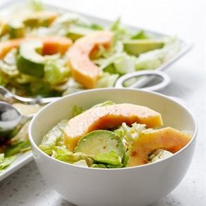 Salad bơ đu đủ