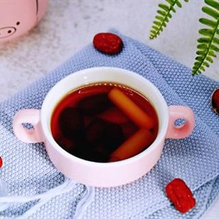 Cách làm trà gừng sả táo đỏ