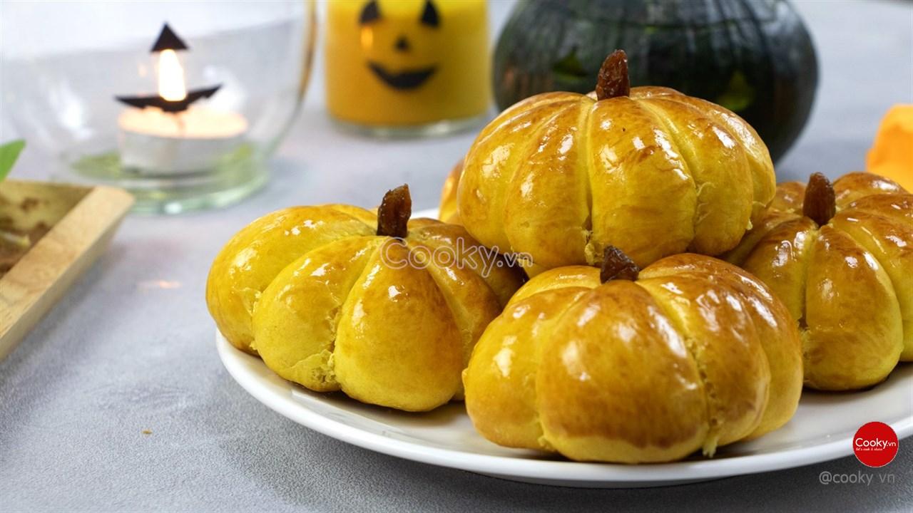 Kết quả hình ảnh cho hình ảnh bánh bí ngô Thái lan