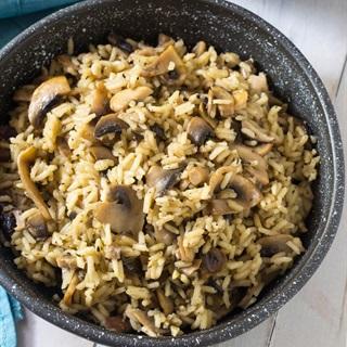 Cách làm Cơm nấu nấm
