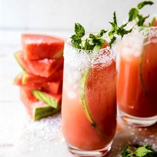 Cách làm Cocktail cam dưa hấu
