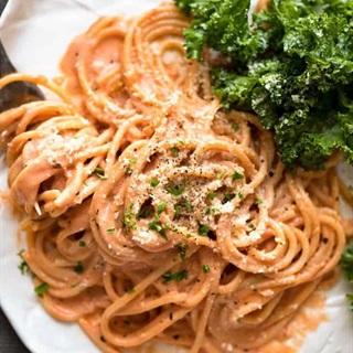 Cách làm Pasta sốt kem cà chua