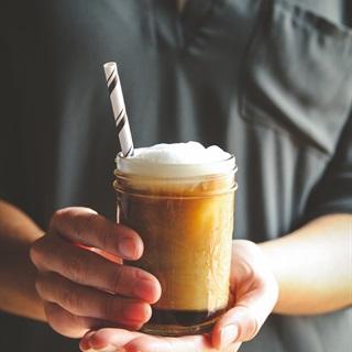 Cách pha Cà phê latte đá