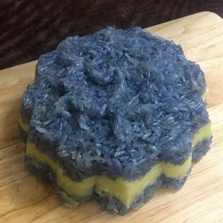 Cách làm xôi hoa đậu biếc nhân đậu xanh