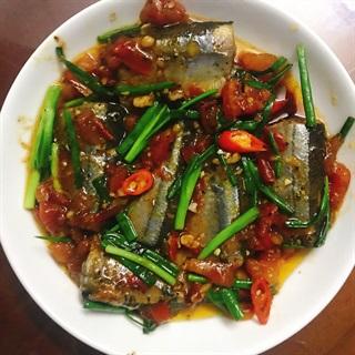 Cách làm Cá thu Nhật kho cà chua cay
