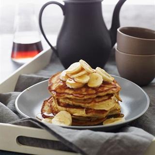 Cách làm Bánh Pancake chuối đơn giản