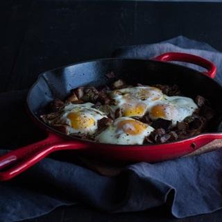 Cách làm Khoai tây trứng gà nướng
