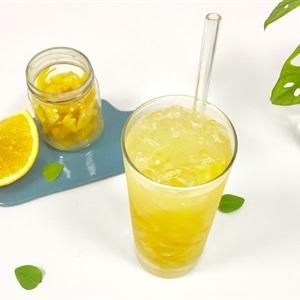 Soda mứt cam