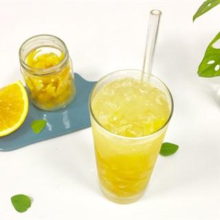 Cách làm Soda mứt cam