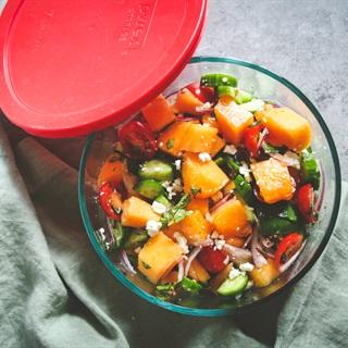 4 Cách làm, nấu salad dưa lưới đơn giản tại nhà | Cooky.vn
