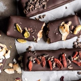 Cách làm Bánh cookie dừa phủ chocolate