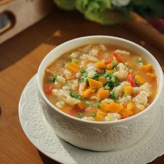 Cách làm súp cà chua bí đỏ