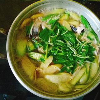Cách làm Canh chua nấu cá bông lau