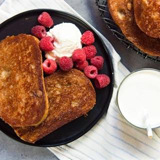 Cách làm Bánh toast bơ đường quế