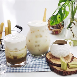 Cách làm Nước mía sữa tươi macchiato