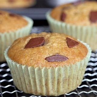 Cách làm Bánh muffin khoai lang chocolate