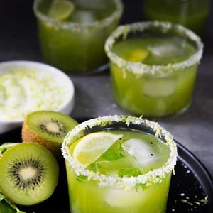 Cocktail bạc hà kiwi