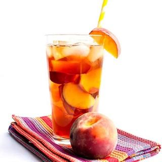 Cách làm Trà đào chua ngọt
