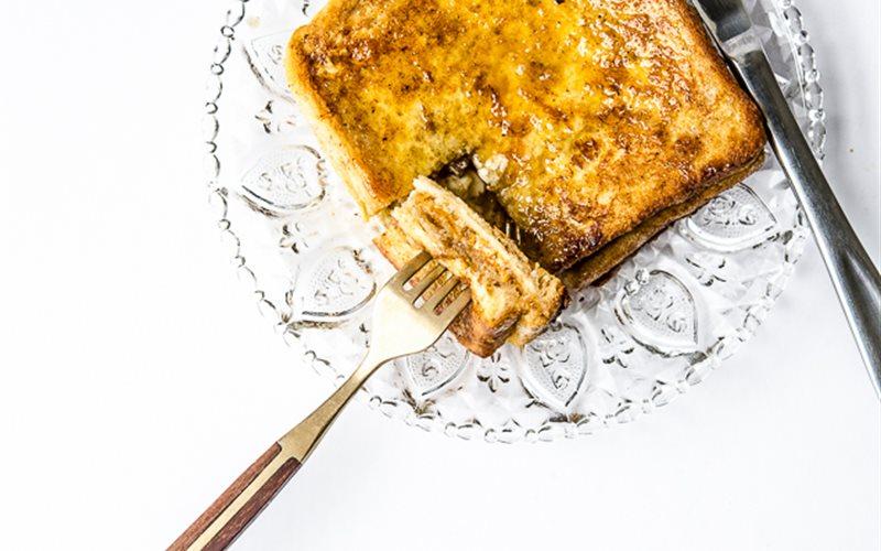 Cách làm Bánh toast Hong Kong