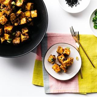 Cách làm Đậu hũ nướng tỏi mật ong