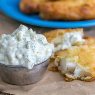 Cách làm Sốt tartar dưa muối thì là