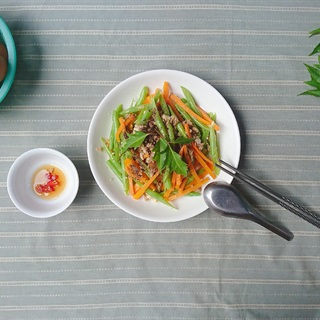 Cách làm Đậu que cà rốt xào thịt bằm