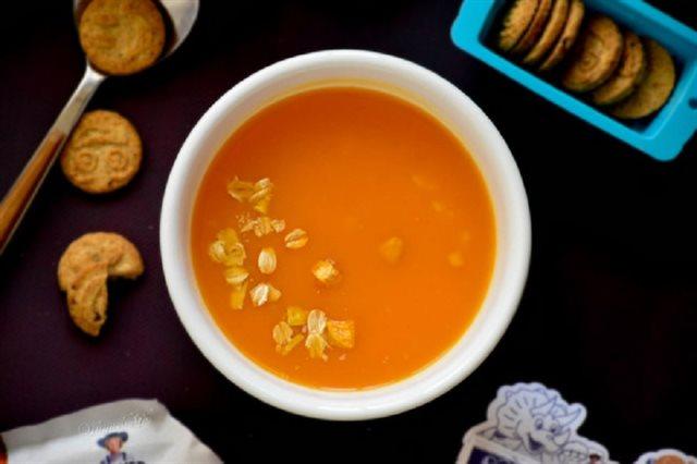 Cách nấu soup khoai lang yến mạch