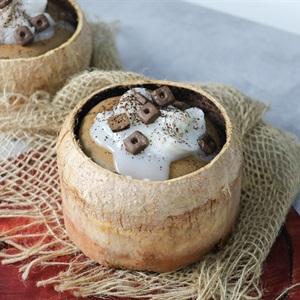 Bánh milo trái dừa
