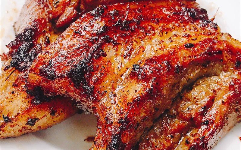 Cách làm Thịt ba chỉ nướng dân dã