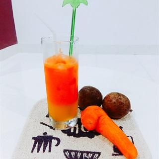 Cách làm Nước ép cà rốt chanh dây