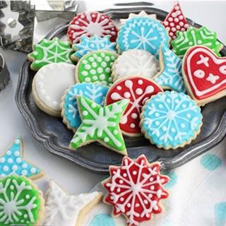Cách làm Bánh cookie đường Noel