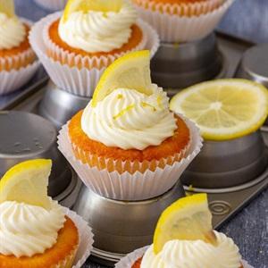 Cupcake chanh đơn giản