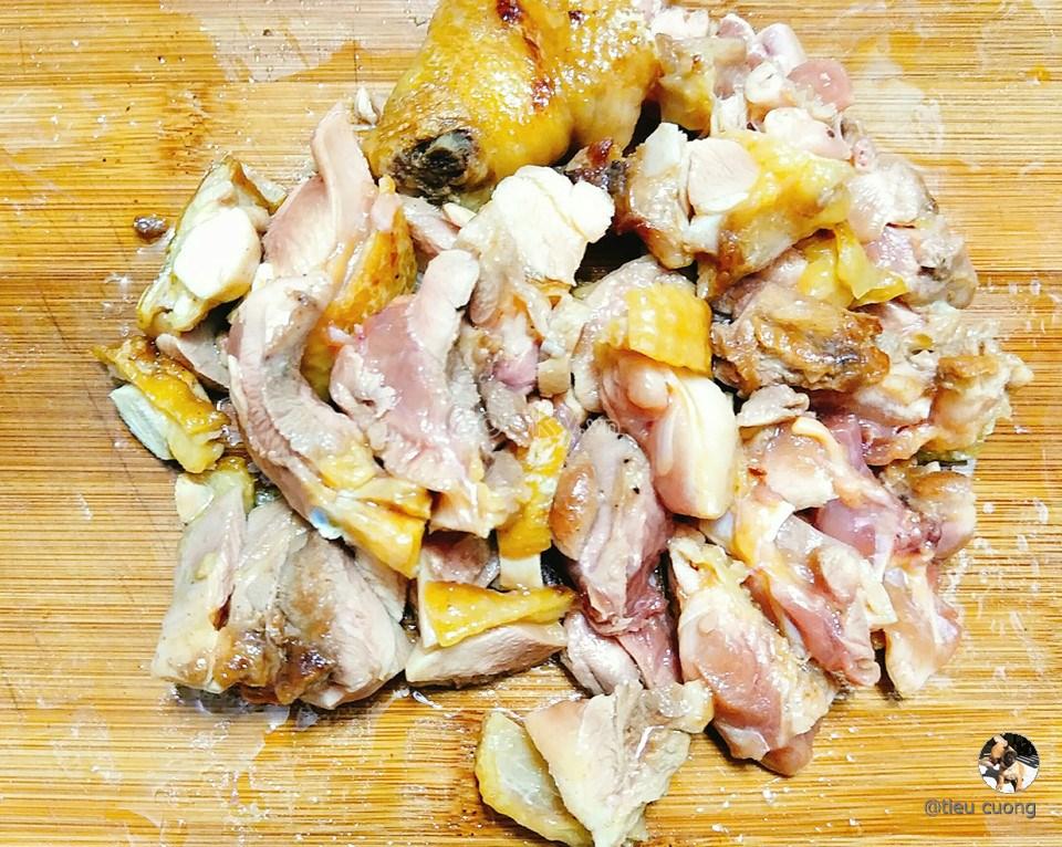 cách làm thịt gà sốt nước tương