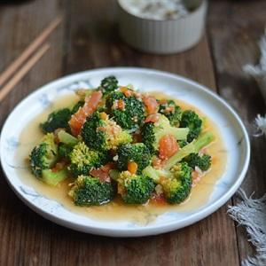 Bông cải xanh sốt cà chua
