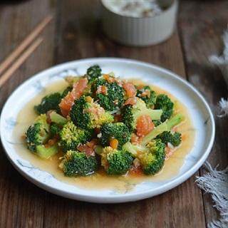 Cách làm bông cải xanh sốt cà chua
