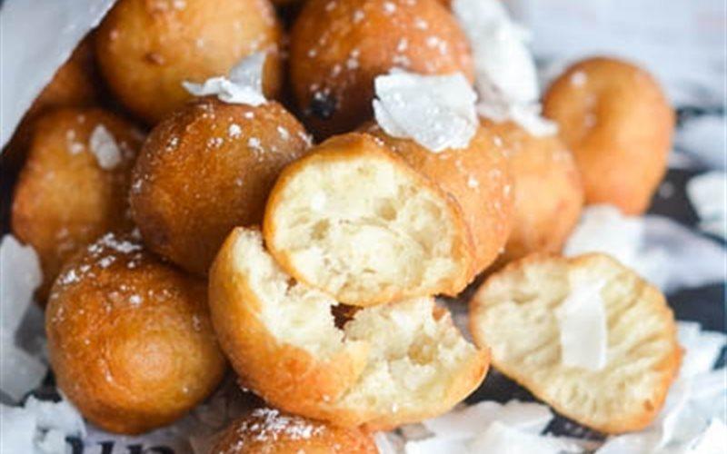 Cách Làm Bánh Dừa Chiên | Mềm, Thơm, Đơn Giản
