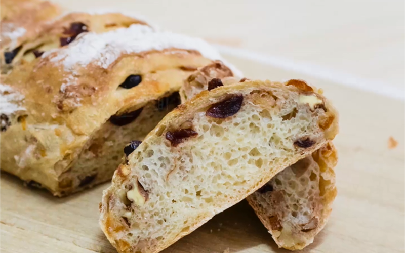 Cách làm Bánh mì hạt trái cây khô