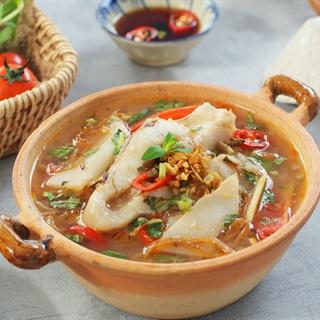 Cách nấu Canh măng chua cá diêu hồng
