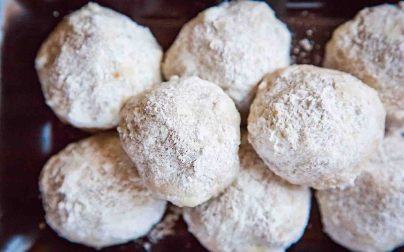 Cách làm Bánh cookie hồ đào Mexico
