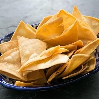 Cách làm Snack bánh mì Tortilla chiên giòn