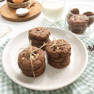 Cách làm Bánh quy chocolate - Chocolate chip cookie