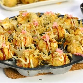 Cách Làm Bánh Bạch Tuộc Takoyaki Chuẩn Vị Nhật