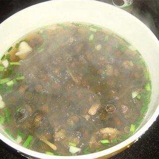 Cách nấu súp ốc đắng